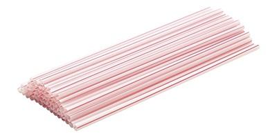 Canudo plástico para refrigerante