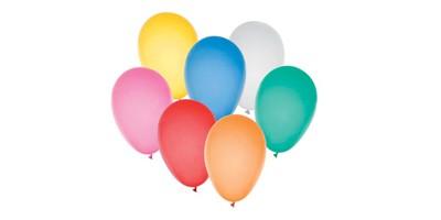 Balões de ar liso (50 un.)