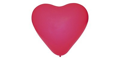 Balão coração (1 un.)