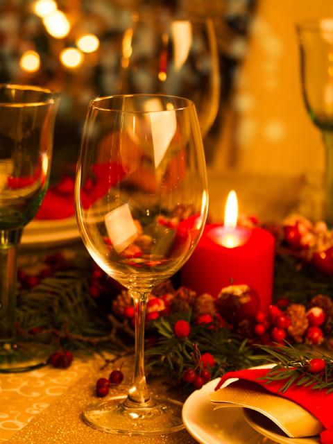 como arrumar a mesa para o Natal